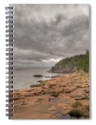 Maine Coastline. Acadia National Park Spiral Notebook