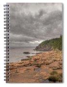 Maine Coastline. Acadia National Park Spiral Notebook