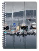 Maine Harbor Spiral Notebook