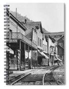 Mainstreet Burke Ghost Town - Idaho Spiral Notebook