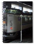 Maizuru Electric Train - Kyoto Japan Spiral Notebook