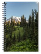 Majestic Rainier Spiral Notebook