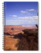 Majestic Views - Canyonlands Spiral Notebook