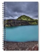 Majesty Of The Lake Spiral Notebook