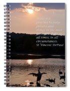 Make It A Practice Spiral Notebook