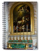 Malachite And Lapis Lazuli Altar Spiral Notebook