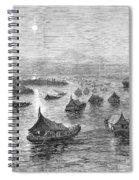 Malaya: Perak River, 1876 Spiral Notebook