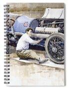 Malcolm Campbell Sunbeam Bluebird 1924 Spiral Notebook