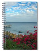 Malibu Beauty Spiral Notebook
