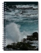 Maliko Point Maui Hawaii Spiral Notebook