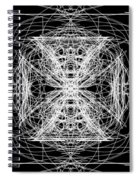 Maltese Cross Spiral Notebook