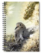 Mama Dove Spiral Notebook