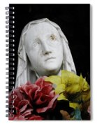 Mama Mary Spiral Notebook