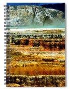 Mammoth Terrace - Yellowstone Spiral Notebook