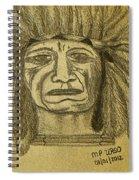 Man Of Wisdom - D Spiral Notebook