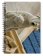 Man With Gaping Mouth Spiral Notebook