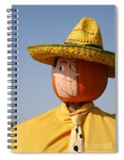 Man With The Yellow Hat Spiral Notebook