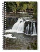 Manabezho Falls 2 Spiral Notebook