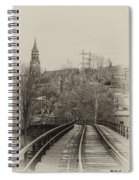 Manayunk From The Tressel Tracks Spiral Notebook