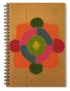 Mandal Rangoli Spiral Notebook
