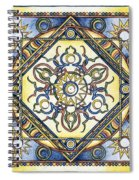 Mandala Of The Sun Spiral Notebook