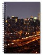 Manhattan- 2 Spiral Notebook