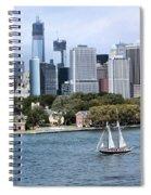 Manhattan Backdrop Spiral Notebook