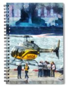 Manhattan Heliport Spiral Notebook