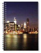 Manhattan Panorama Spiral Notebook