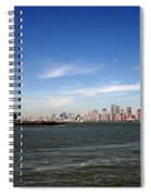 Manhattan Skyline Spiral Notebook