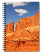 Manhatten In Utah Spiral Notebook