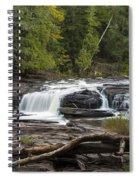 Manido Falls 1 Spiral Notebook