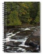 Manido Falls 5 Spiral Notebook