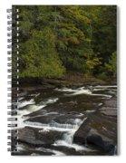 Manido Falls 7 Spiral Notebook