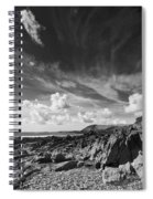 Manorbier Rocks Spiral Notebook