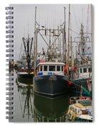 Many Fish Boats Spiral Notebook
