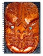Maori Mask One Spiral Notebook