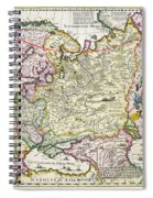 Map Of Asia Minor Spiral Notebook