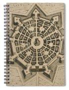 Map Of Palmanova Spiral Notebook