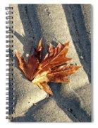 Maple Leaf Forever Spiral Notebook