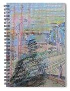 Maple Leaf Quay Spiral Notebook