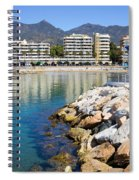 Marbella Bay Spiral Notebook