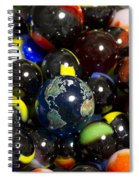 Marble Collection 23 A Spiral Notebook