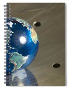 Marble Earth 1 B Spiral Notebook