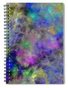 Marbled Clouds Spiral Notebook