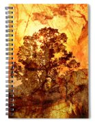 Marbled Tree Spiral Notebook