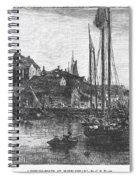 Marblehead: Fishing Boats Spiral Notebook