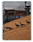 March To The Water Spiral Notebook