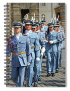 Marching Guards Spiral Notebook