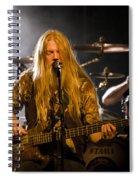 Marco Hietala And Jukka Nevalainen - Nightwish  Spiral Notebook